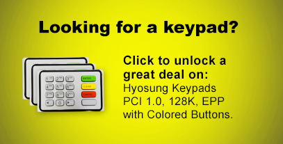 Looking for a keypad? Click to unlock a great deal on: Hyosung Keypads.